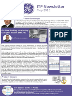 GE M&D - May ITP Newsletter