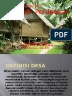 Geografi Pedesaan