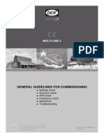 General Guidelines for Commissioning