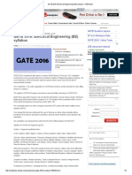 GATE 2016_ Electrical Engineering (EE) IMPORTANT NOTES