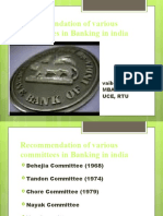 Regulation of Bank Finance in india under RBI