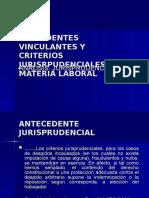 Diap Precedentes Vinculantes en Materia Laboral Defensoria