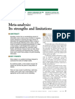 Meta-Analysis_ Its Srengths and Limitations. 2013