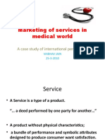 Marketing of Services in Medical World