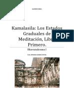 Kamalasila Los Estados Graduales de Meditación, Libro Primero.