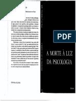 A Morte à Luz Da Psicologia