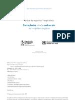 Indice de seguridad hospitalaria - Formularios