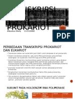 Transkripsi pada Prokariot.pptx