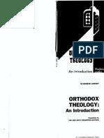 Vladimir Lossky _ Translated by Ian and Ihita Kesarcodi-Watson.-orthodox Theology _ an Introduction-St. Vladimir's Seminary Press (1978.)