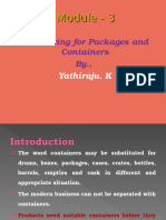 Packages and Containers