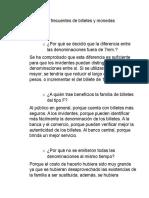 Documentos Cuestionados pautas para detectar dinero falso moneda mexicana