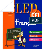 Bled Cahier CE1