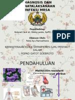 Diagnosis dan Penatalaksanaan Infeksi MRSA