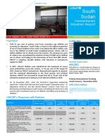 UNICEF South Sudan Humanitarian SitRep No. 772c 14 January 2016
