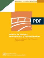 Abuso de Drogas. Tratamiento y Rehabilitación. Guía Práctica de Planificación y Aplicación
