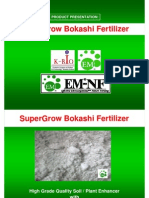 SuperGroW Bokashi Fertilizer