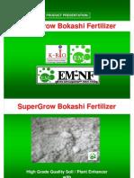 SuperGroW Bokashi Fertilizer