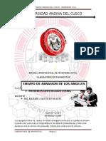Ensayo de Abrasion de Los Angeles