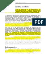 1. Comunicación y Resolución de Conflictos - Material Control 1