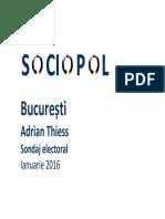 Sociopol - 2016 01 - Bucuresti - At - Rezultatele Sondajului de Opinie-1