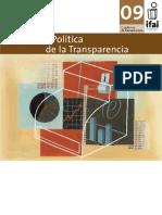 Economía Política de la Transparencia