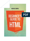 Beginners Guide to HTML