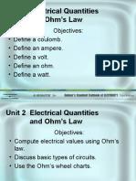Unit 02 Ohm Laws