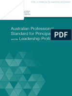 Australian Professional Standard for Principals and the Leadership Profiles
