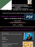 las escuelas matan la creatividad 2