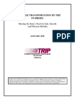 TN Transportation by the Numbers TRIP Report Jan 2016