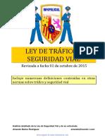 Ley de Tráfico y Seguridad Vial Revisada 01.10.2015
