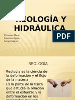 Reología y hidráulica