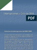 Interrupciones y Ciclo de DMA