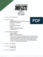 Tna Impact Script