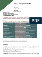 Le Management Des RH