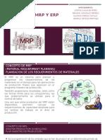 Modelos de MRP y ERP