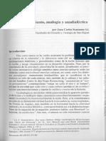 Scannone Nuevo Pensamiento Analogia y Anadialectica