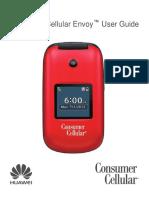 Consumer Cellular Envoy User Guide - Final