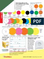 FreshMarx Color Circle Labels