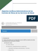 Aspectos Contrato de Obras en Los Servicios de Salud