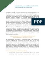 2.Instrumento de Evaluación Para Verificar La Calidad de La Información de Los Sitios Web