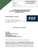 Sentència 1% guanyada per CCOO a l'Ajuntament de Barcelona