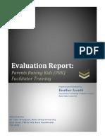 edtech 505 evaluation report