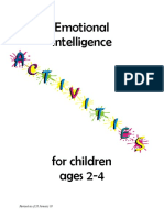 Emotional Intelligence for Children Aged 2-4