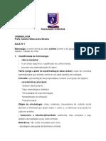 NOTAS DE PENOLOGIA