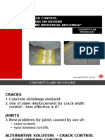 Jointing and Crack Control