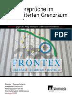 Frontex - Widersprüche im erweiterten Grenzraum