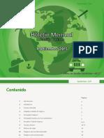 Informe Turismo Septiembre 2015