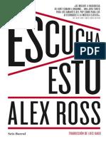 Escucha Esto - Alex Ross
