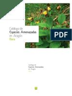 Catalogo de Especies Amenazadas en Aragon